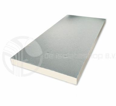 PIR platen 2-zijdig Aluminium