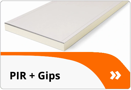 PIR + Gips