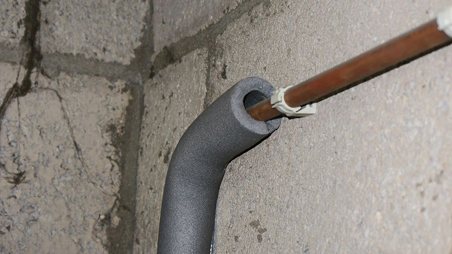 Condensatie leidingwerk